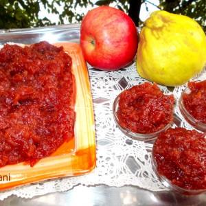 Мармалад од рерна (дуњи и јаболка)