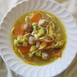 Супа со ќофтенца