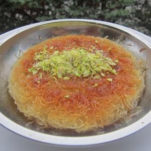 Ќунефе - Турски десерт со кадаиф