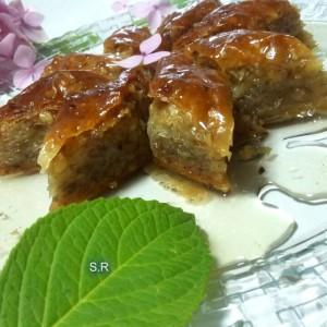 Турска баклва со домашни кори (Основен Рецепт)