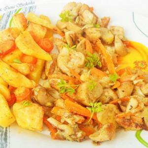 Вргањ со зеленчук (посно)