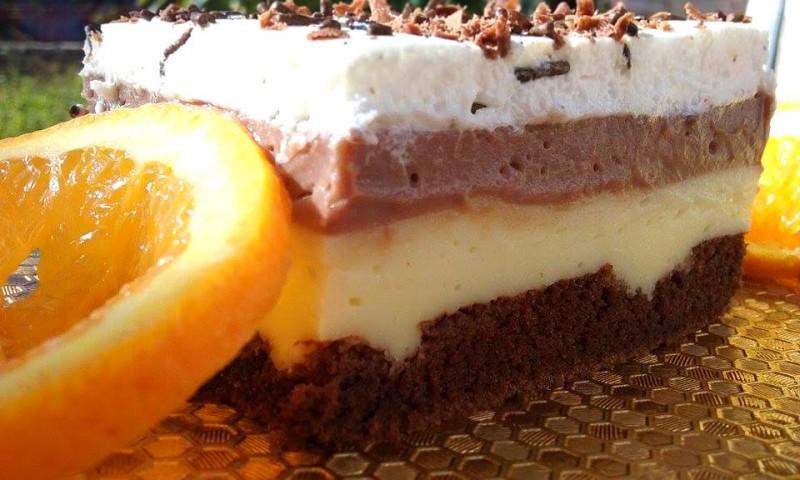 Кремаста торта со дупки