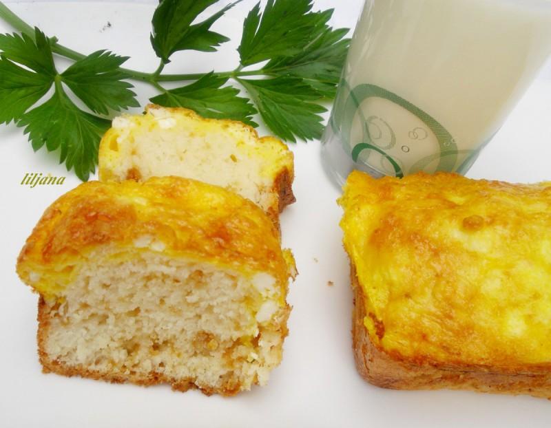 Погачки со јогурт и сирење