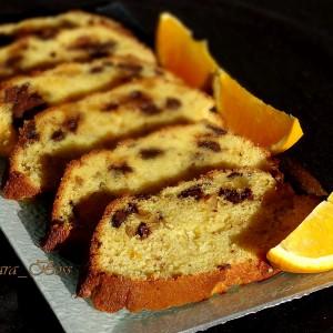 Сочен колач со портокал