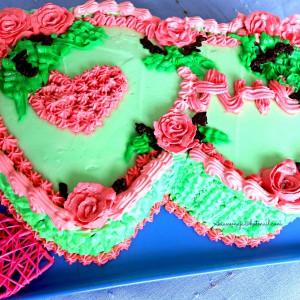 Срце во срце торта