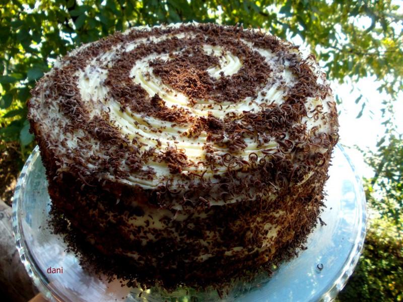 Полжав торта