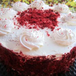 Торта црвено кадифе - Red velvet cake