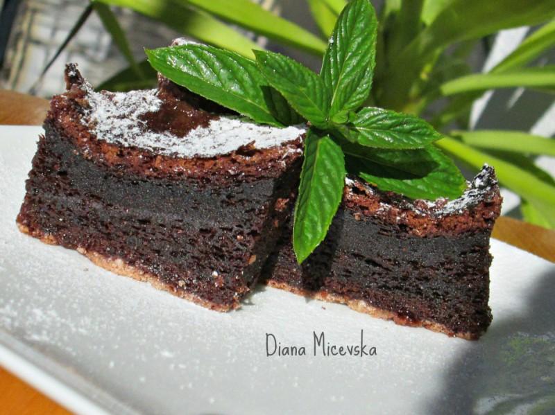 Чоколаден минт колач (без брашно)