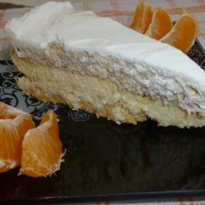 Песок торта (без печење)