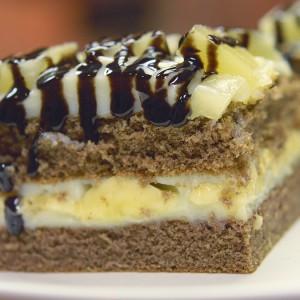 Видео рецепт: Колач со банани и ананас