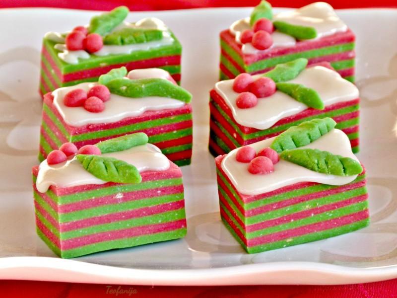 Божиќни локум колачиња (посно)