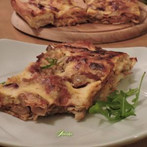 Сукана пица со рукола