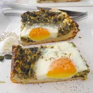 Тарт со спанаќ и сирење