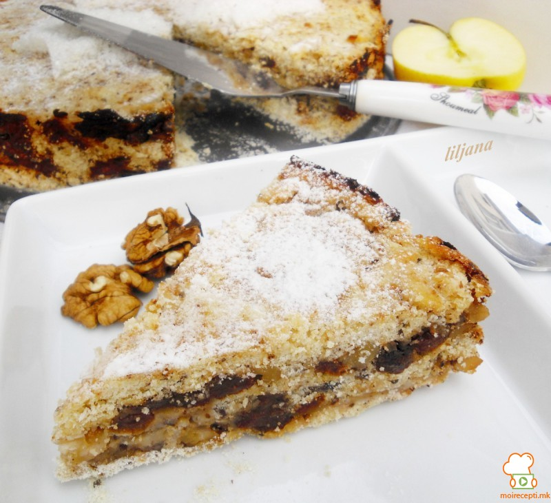 Јаболков колач (посно)
