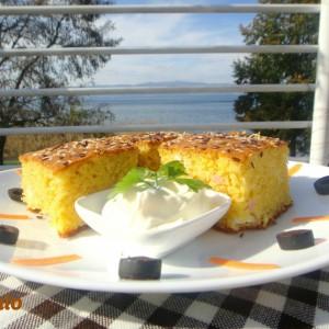 Солена торта со палента
