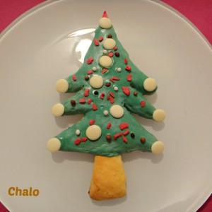 Божиќни украсни колачи