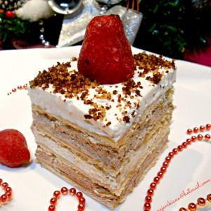 Брз колач со слатка павлака и чоколада