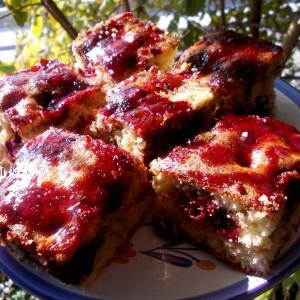 Торта со вишни (посно)