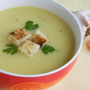 Крем супа со лук (посно)