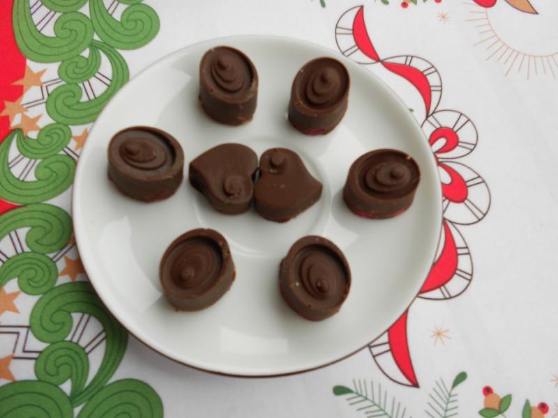 Чоколадни пралини со крем (посно)