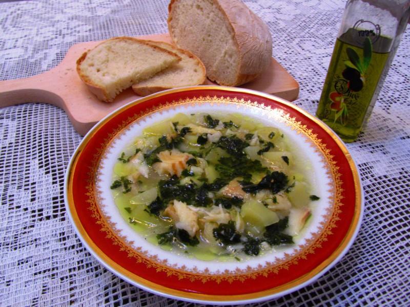 Чорба со бакалар и компир