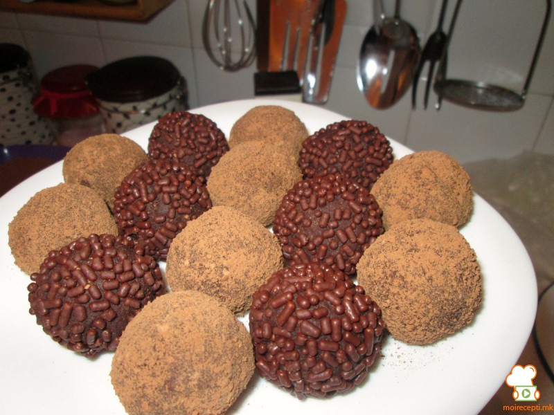 Чоколадни топчиња со ѓумбир