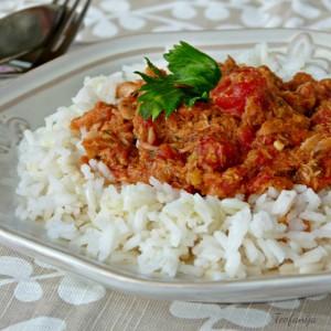 Басамати ориз со туна сос (посно)