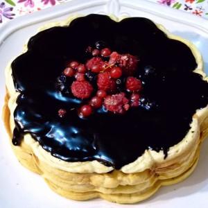 Чоколадна галета торта (посно)