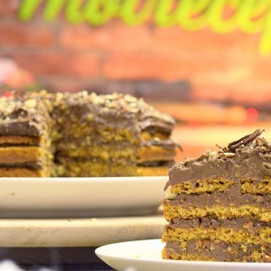 Видео рецепт: Посна Грилијаж торта