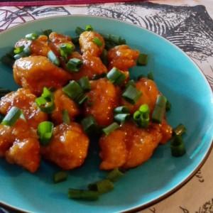 Пилешки стек со портокал