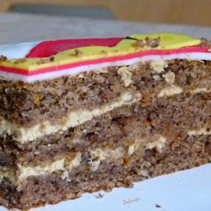 Портокал торта (посно)