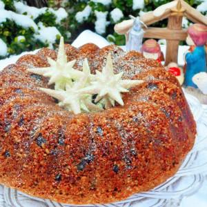 Божиќен колач-куглоф