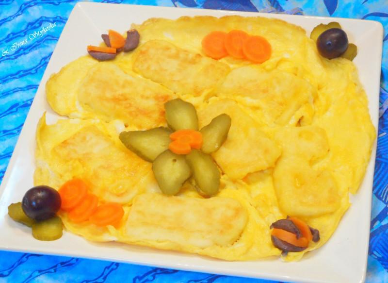 Биено сирење со јајца