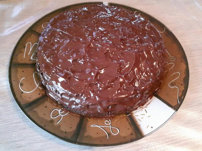 Чоколадна торта со ликер Cointreau