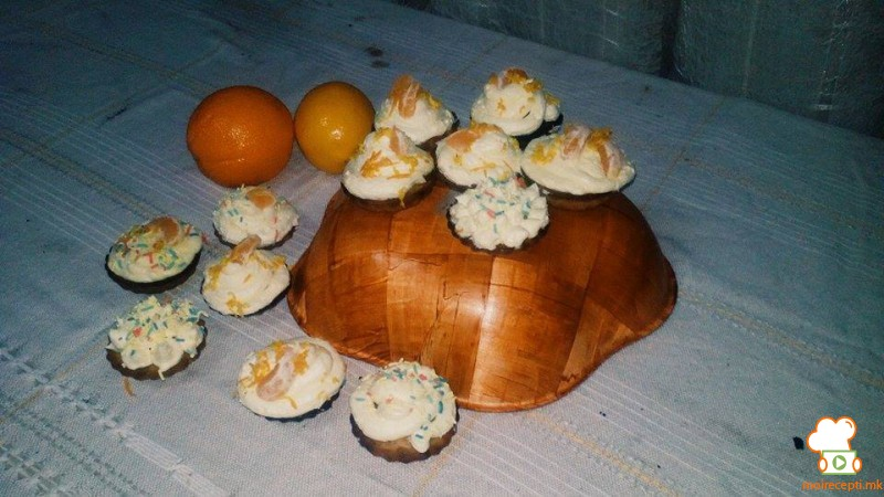 Мафини со мандарина