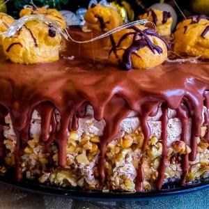 Чоколадна еклер торта