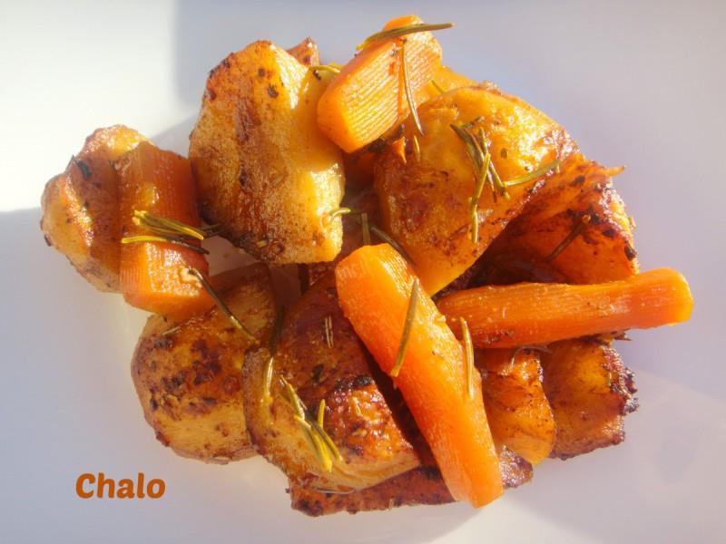 Компири и моркови во маринада