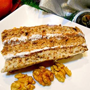 Торта со печени ореви