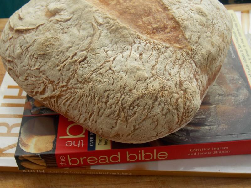 Леб без месење со сладок компир