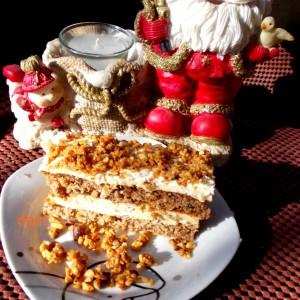 Кремаста кикирики торта