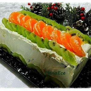 Торта со киви - Бела Рада