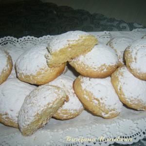 Бели колачина со чоколадо и кора од мандарина