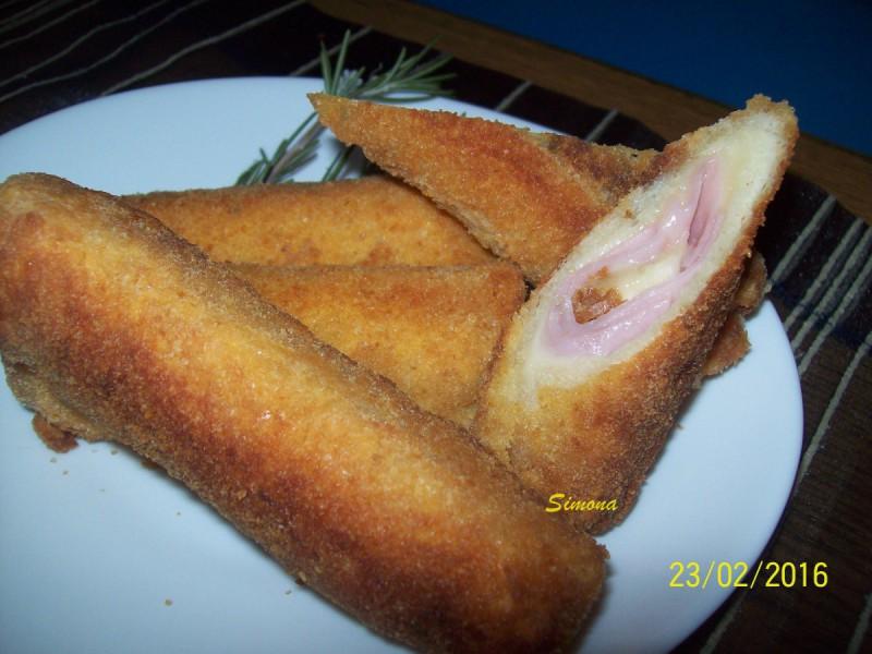 Експрес пирошки од тост леб