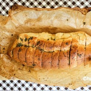Потпечен зачинет леб