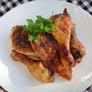 Чадено пилешко месо