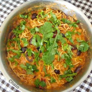 Шпагети во путанеска сос (Spaghetti alla puttanesca)
