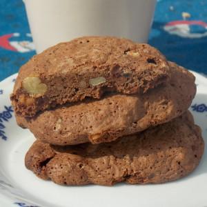 Чоколадни колачиња со боровинки