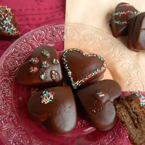 Чоколадни - медени срца