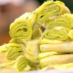 Видео рецепт: Потпечени палачинки со спанаќ