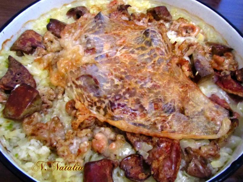 Ориз со јагнешки џигер на старински начин (Каплама)